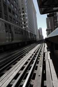 The L in Chicago